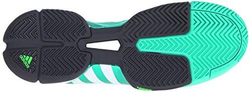 Adidas Mens Prestazioni Barricata 2016 Scarpe Da Tennis Spinta Scossa Menta / Bianco Di Calce / Solare