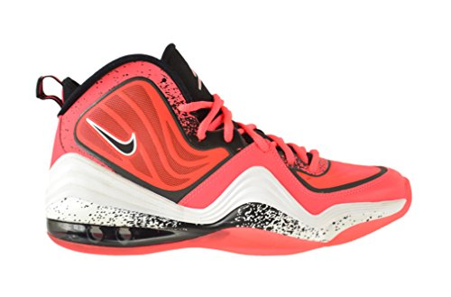 NIKE Air Penny V Little Mens Shoes Atomic Red Black-White 628570-601
