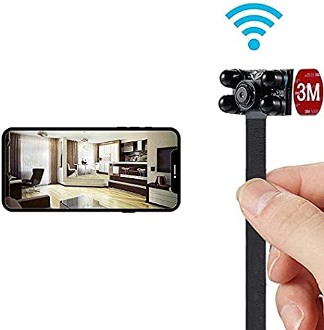 WiFi Spy CAM 4K Vídeo, Hidden Niñera Ayuda De La Leva De Detección ...