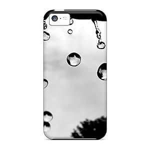 For Iphone 5c Fashion Design Rain Drops Hd Cases-fVN8182lndw