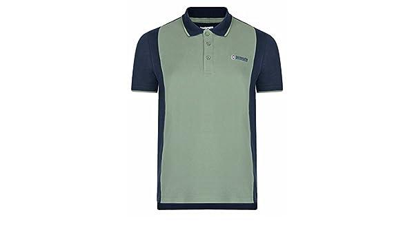 Lambretta - Polo - Rayas - Cuello Redondo - para Hombre Verde ...