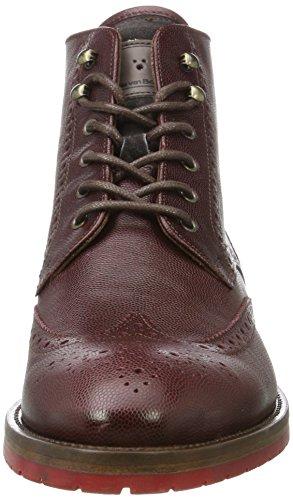 Floris Van Bommel Mænd 10974 Klassiske Støvler Rød (rød) 5NNjAf7Zc