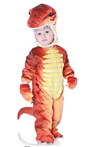 toddler baby orange dinosaur halloween costume 2t 4t - Halloween Costumes 4t