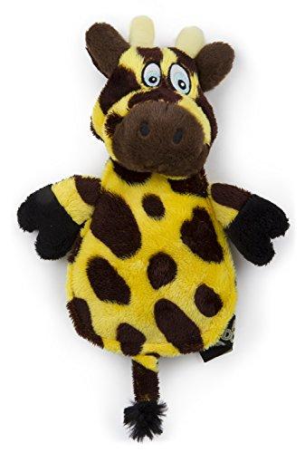 Hear Doggy Flatties With Chew Guard Technology Dog Toy  Giraffe