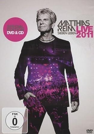 Matthias Reim Sieben Leben Live Special Edition Dvd Cd