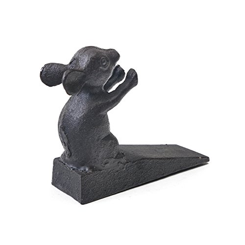 Cat A Thoughtful Gift Idea Stop Your Bedroom Bath Cast Iron Dog//Mouse//Cat Door Stopper Vintage Door Stop Wedge Lovely Decorative Finish