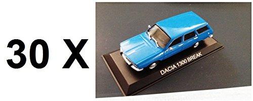 alta calidad general Générique Générique Générique Set of 30 Coches Dacia 1300 Break IDEM Renault 12 R12 1 43 IXO Coche Auto B22  ahorrar en el despacho