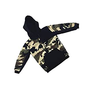 "1//6 Scale Camouflage Hoodie for 12/"" Male Sideshow DID Action Figure"
