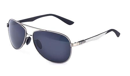 HETAO personnalité Les nouveaux lunettes de soleil polarisées de haute qualité , silver b Verres décoratifs