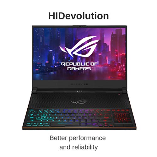 Compare HIDevolution ASUS ROG Zephyrus S GX531GX (GX531GX-XB77-HID8) vs other laptops