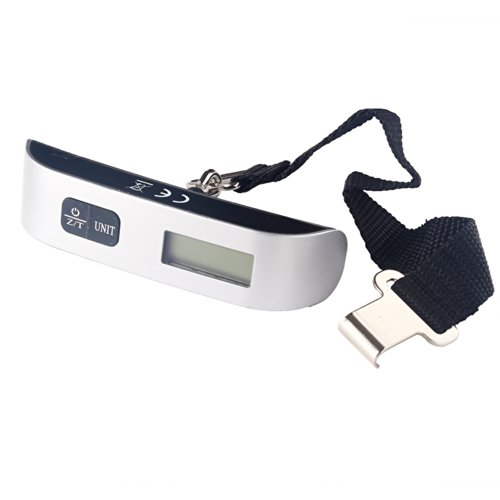 Weighing in a Suitcase ''Digital Scale El10 Hanging Belt-type'' Small, Lightweight and [Max50kg] by