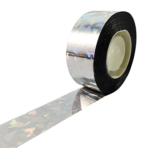 Bird Scare Tape - 125 Feet - Deterrent Tape for Pests and Birds - Perfect for Farmers and Gardeners