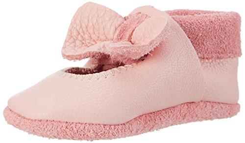 Pololo Pololo Ballerina - Zapatillas de casa Bebé-Niños Rosa Rosa (Rose)