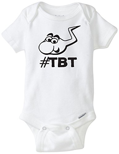 [Throw Back Thursday Funny Baby Onesie Gerber Novelty Shirt Blakenreag (24 Month)] (Throwback Thursday Outfits)