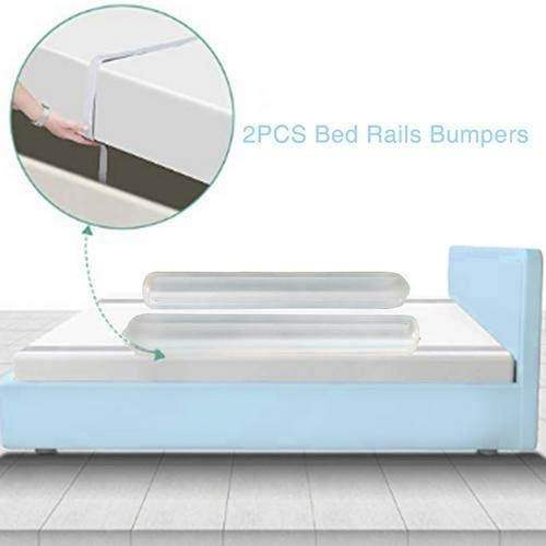 Bed Rails Bumpers Toddlers Inflatable Safety Non Slip Bed Guardrail Crib Rail Bed Safety Bed Rail for Toddler Baby /& Children,Easy to Install