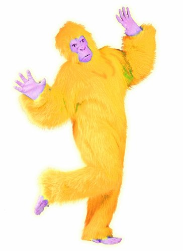 RG Costumes Men's Plus-Size Yellow Gorilla