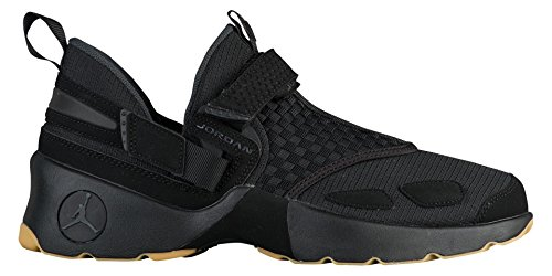JORDAN MENS JORDAN TRUNNER LX BLACK ANTHRACITE GUM YELLOW SIZE 9.5 (Mens Air Jordan Trunner Lx Training Shoes)