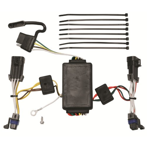 Tow Ready 118418 T-One Connector Assembly with Circuit Protected Converter ()