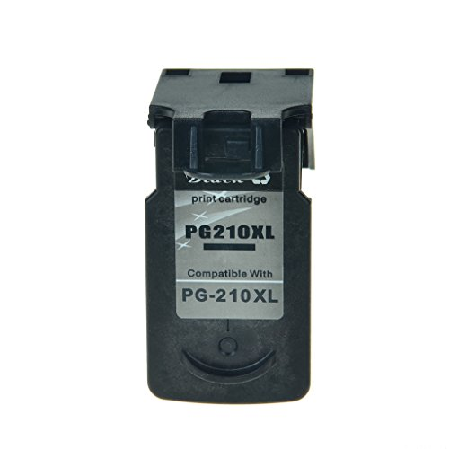 SuperInk 1PK Remanufactured Replacement PG-210XL Black Ink Cartridge use with PIXMA MP280 MP230 iP2700 MP495 MP250 MX410 iP2702 MX340 MP240 MP270 MX420 MX360