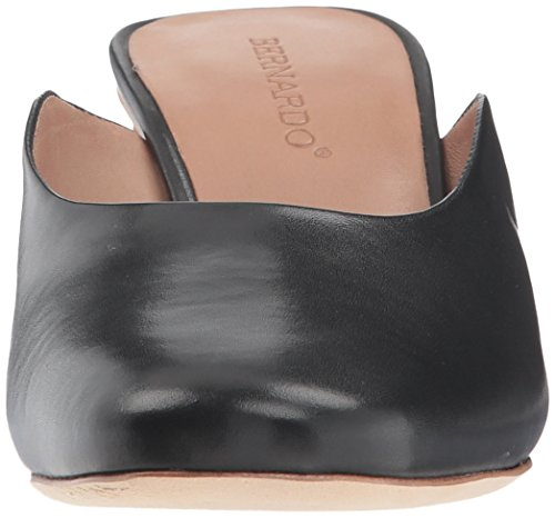 Glove Mule Women's Bernardo Irena Leather Black nwaTYfqY