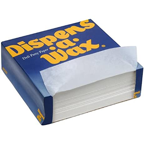 Dispens A Wax 512 Deli Patty Paper 5 5 Length X 5 5 Width White 24 Packs Of 1000