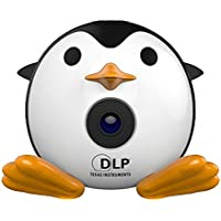 Mromick DLP Mini Penguin Projector Portable Projector Video Multimedia Home Business