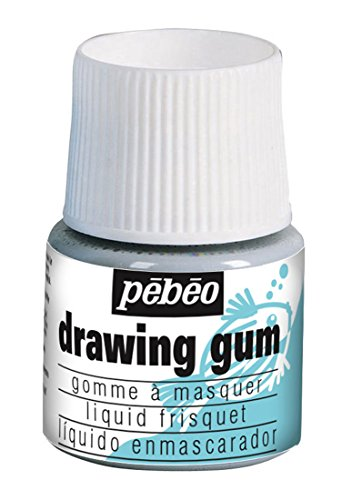 Pebeo Magic! Drawing Gum for Kids, Masking Fluid, 45 ml Bottle (Drawing Pebeo)