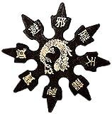 Ninja Rubber Throwing Stars Practice Foam Shuriken