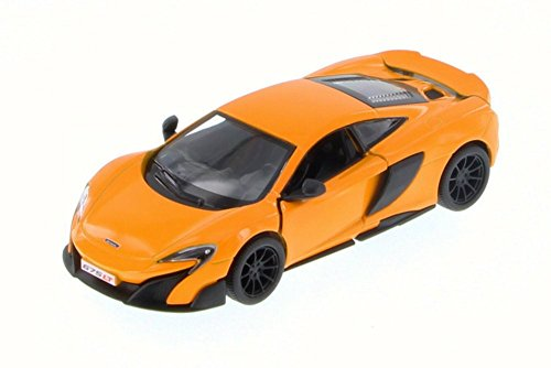 Kinsmart McLaren 675LT, Orange 5392D - 1/36 Scale Diecast Model Toy Car but NO BOX