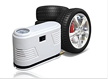 SHINA Mini compresor de aire 12 V, inflador de neumáticos para portátil 14 Auto 150PSI L/min, con toma de mechero de coche 12 V: Amazon.es: Coche y moto