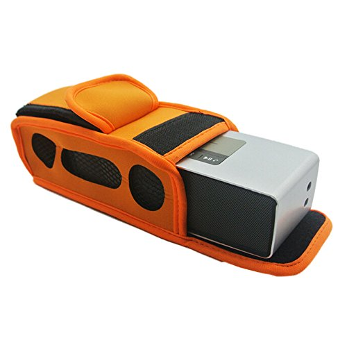 Bose-SoundLink Mini/Mini 2 Speaker Case - TOOGOO(R)Bike Motor Bag Pouch Sleeve Case For Bose-SoundLink Mini/Mini 2 Speaker Case, Orange