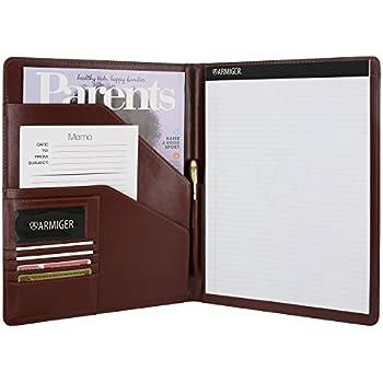 Amazon.com : Armiger Executive Bonded Leather Professional Business ...