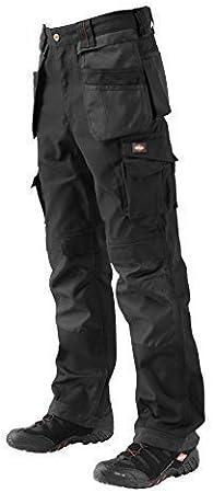 35 Grey//Black Lee Cooper LCPNT210 Pantalones