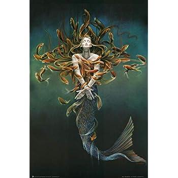 Metamorphosis Art Poster Print by Sheila Wolk, 24x36