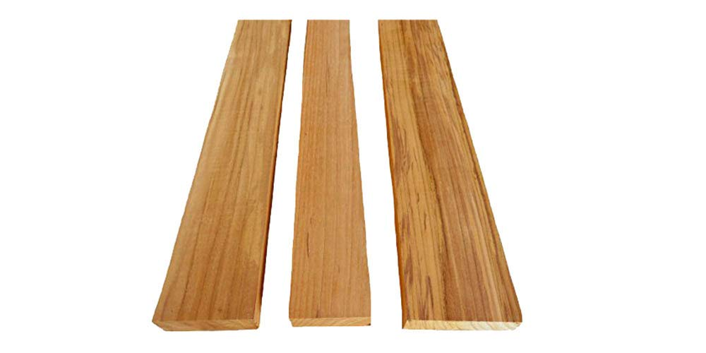 Amazon com: 20 Board Feet of 100% heartwood teak lumber 1