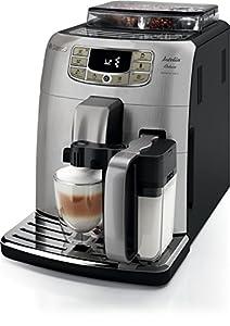 Saeco Philips Intelia Deluxe Espresso Machine, Silver by Philips Saeco