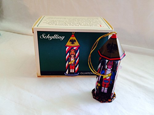 (Schylling Tin Toy Ornament Guardhouse)