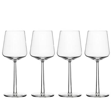 Iittala Essence Red Wine Glasses, Set of 4, Clear