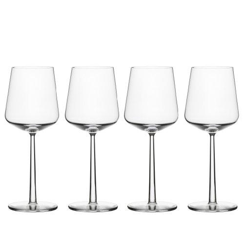 Iittala Essence Red Wine Glasses, Set of 4, Clear (ES112059) ()