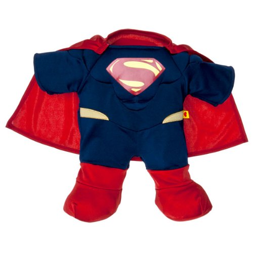 Build a Bear Workshop, Superman Costume Teddy Bear Clothing