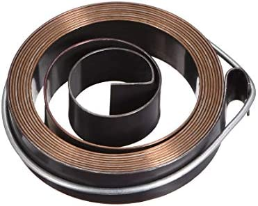 uxcell Drill Press Return Spring Quill Spring Feed Return Coil Spring Assembly 5Ft Long 55mm x 12mm x 07mm