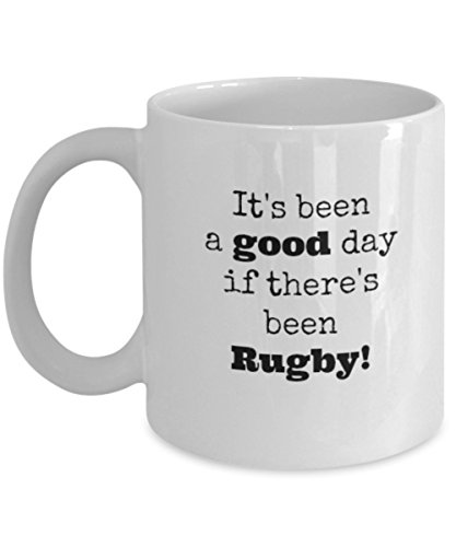Rugby Nations Tri - Rugby - It's Been a Good Day - Unique Fun Coffee Mug - Makes a Great Gift