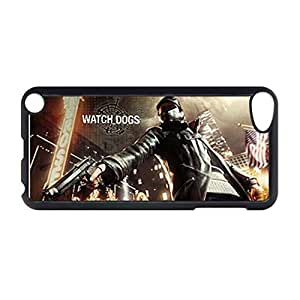 Custom Phone Cases For Man For Apple Touch 5 Printing With Watch Dogs Choose Design 2