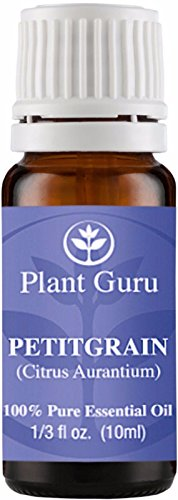 Petitgrain Essential Oil. (Citrus Aurantium) 10 ml. 100% Pure, Undiluted, Therapeutic Grade.