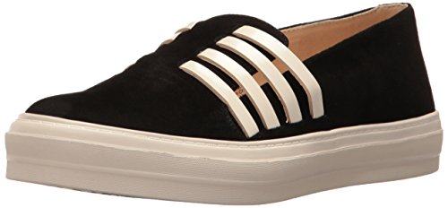 Nine Women's Sneaker Fashion White West Black Suede Owen Off vPrnwvWz
