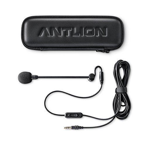 Audio-Technica ATH-M50xRD Professional Studio Headphones -INCLUDES- Antlion Audio ModMic 4 Uni-Directional Attachable Boom Mic w/ Mute Switch + Y Splitter - LIMITED EDITION GAMING BUNDLE by blucoil (Image #5)