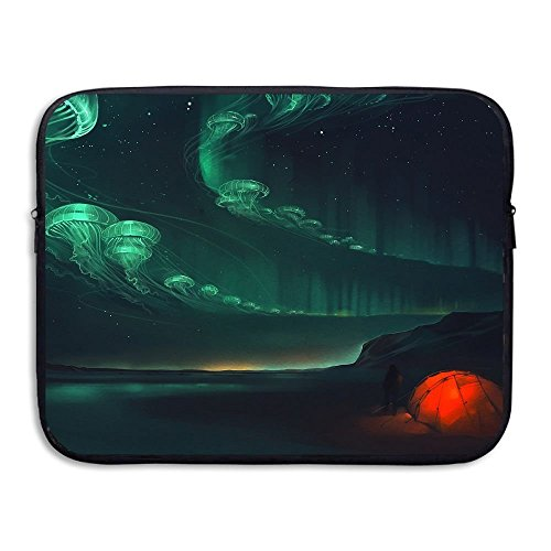 Business Briefcase Sleeve Artwork Color Surreal Jellyfish La