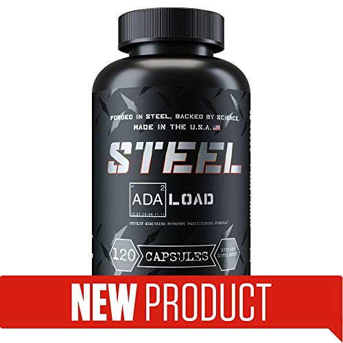 Steel Supplements ADA-Load | Insulin Mimicker, Carb Management, Blood Sugar Management, Nutrient Partitioning Supplement