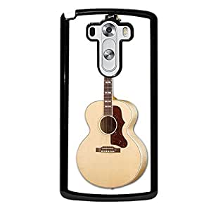 Guitar Artistic Plastic Phone Case Cover For LG G3