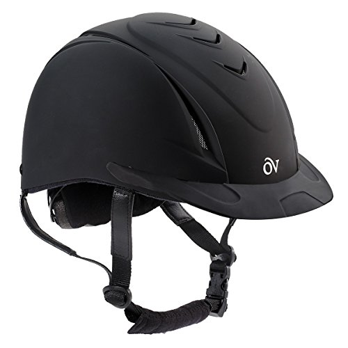 Ovation Deluxe Schooler Helmet Medium/Large Black
